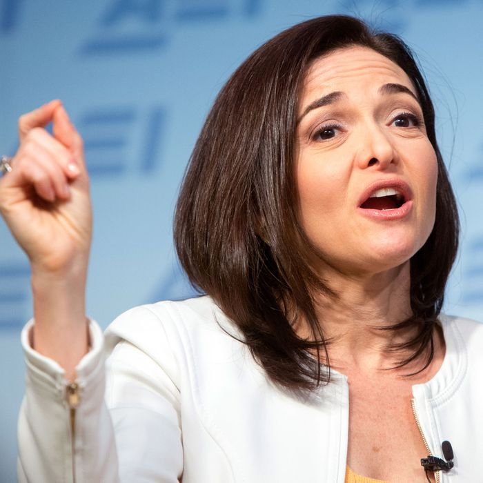 Sheryl Sandberg Wants Girls to Know They Can Be Leaders