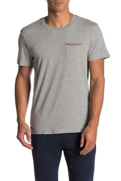 Lacoste Knit Lounge Pocket T-Shirt