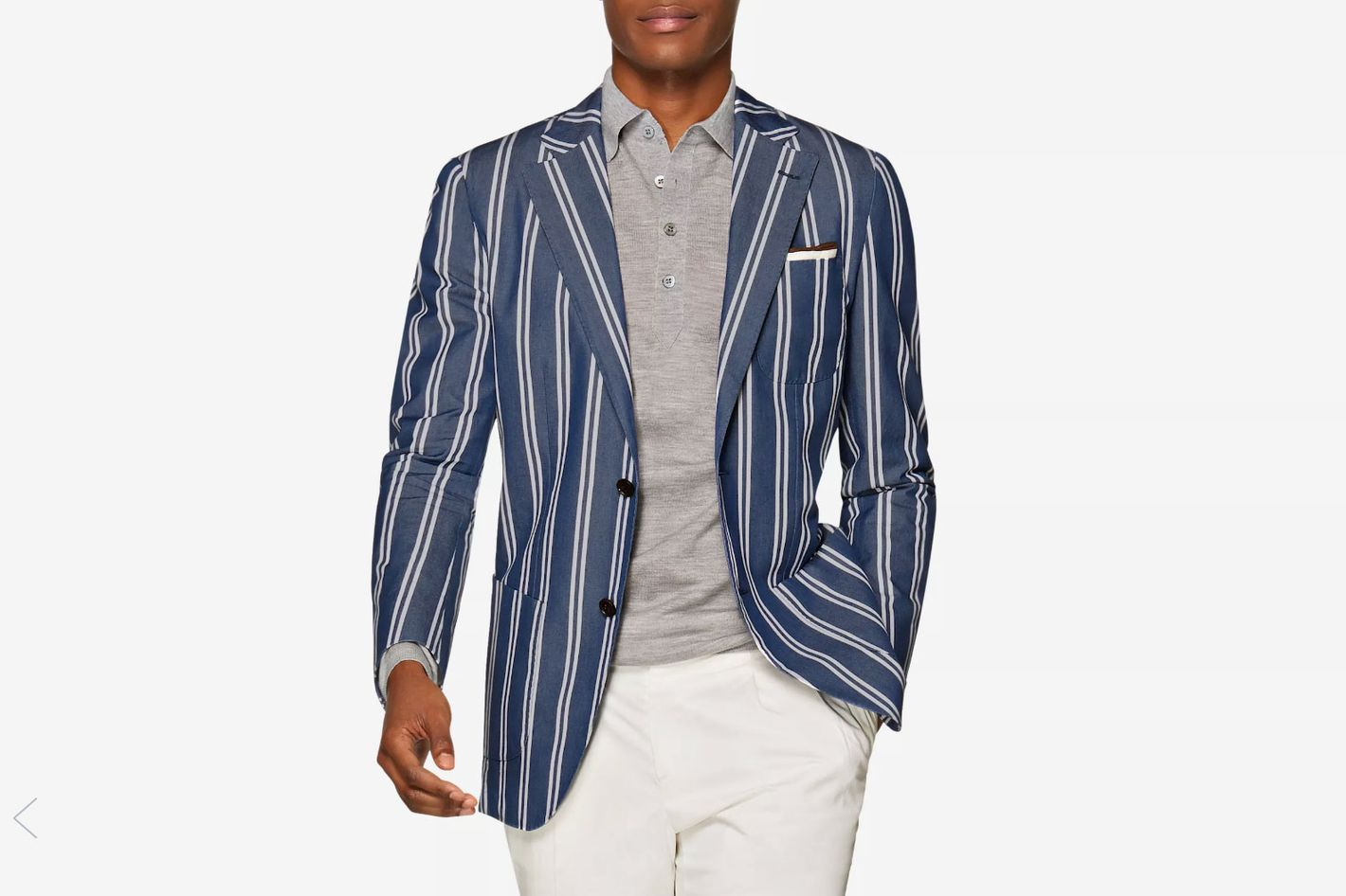 Jort Blue Stripe Jacket