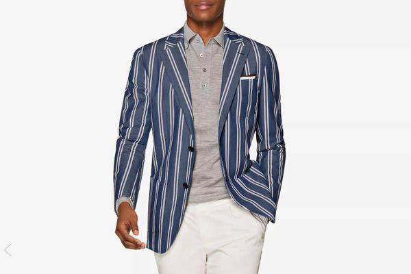 Jort Blue Stripe Jacket