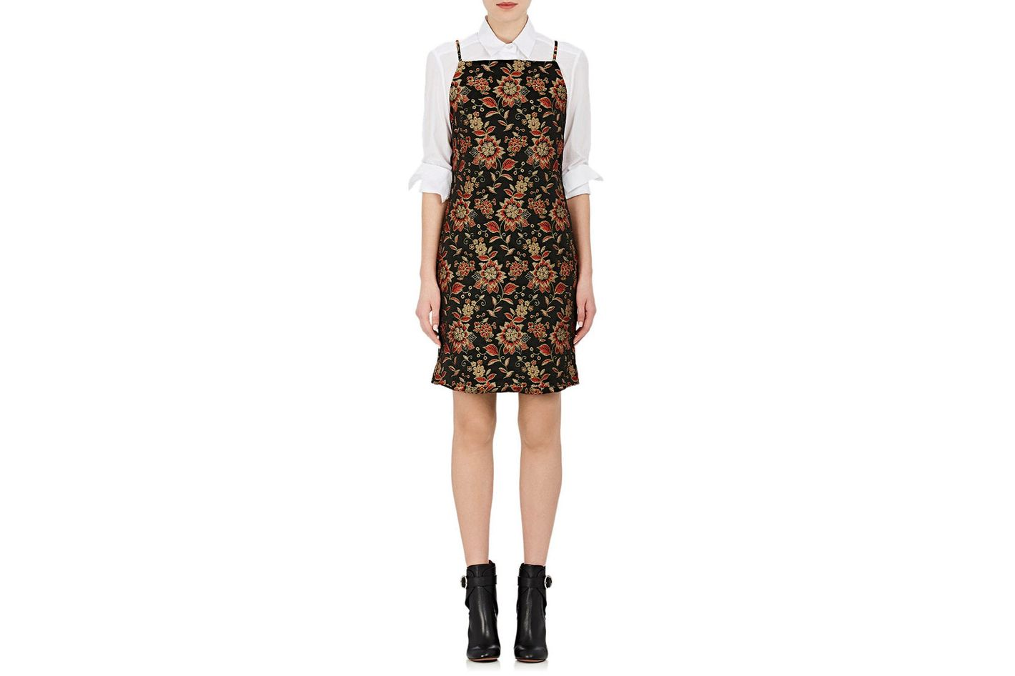 NOMIA Floral Jacquard Shift Dress