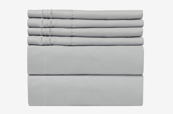 CGK Unlimited Queen Size Sheet Set - 6 Piece Set - Hotel Luxury Bed Sheets