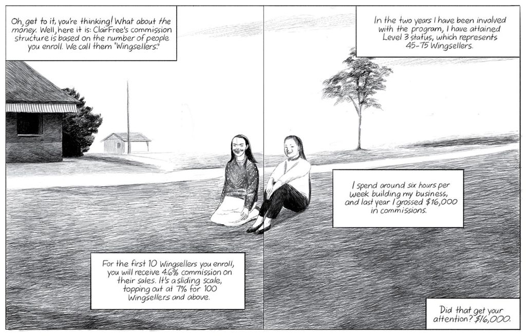 Graphic Artist Jillian Tamaki Explains Skin-Care Comic