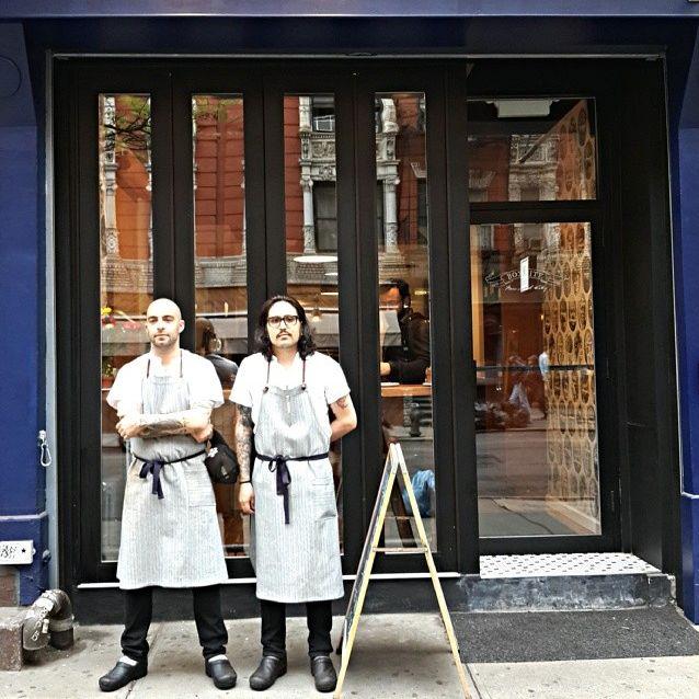 Chefs Dave Gulino and Justin Slojkowski