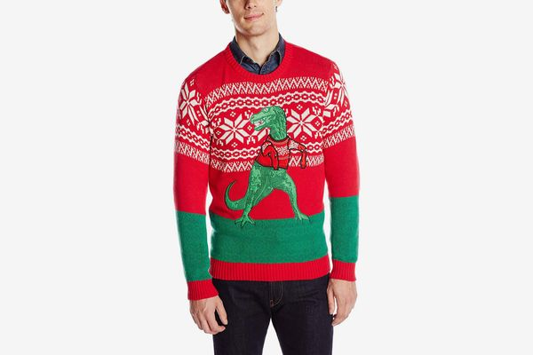 Blizzard Bay Men's Trex Hates Ugly Christmas Sweater