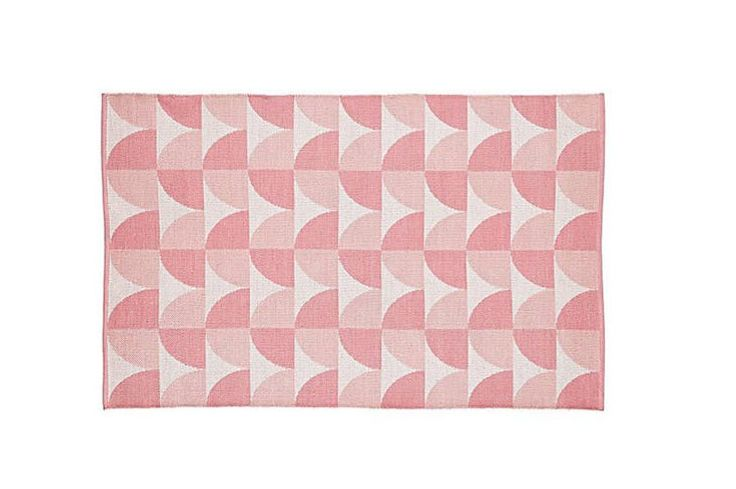 The Land of Nod Semi Scallop Rug