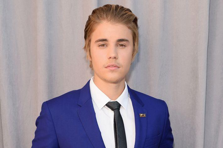 Promgoer Justin Bieber.