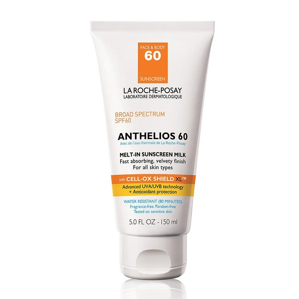 La Roche-Posay Anthelios Melt-In Sunscreen Milk Body & Face Sunscreen Lotion Broad Spectrum SPF 60