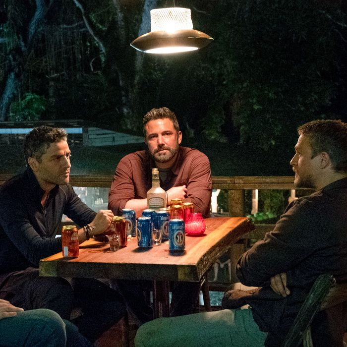 Ben Affleck, Oscar Isaac, Charlie Hunnam, Garrett Hedlund, and Pedro Pascal.