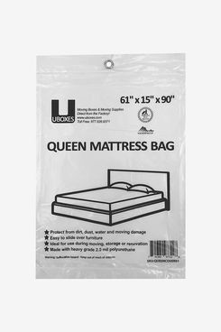 UBoxes Queen Mattress Poly Covers