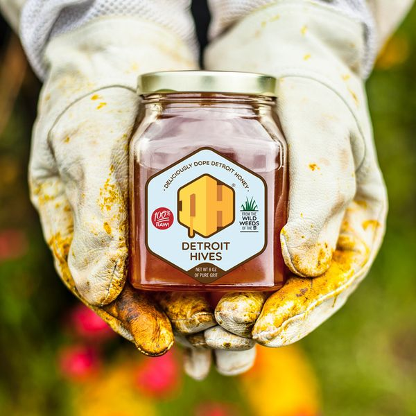 Detroit Hives Delicious Dope Wildflower Honey