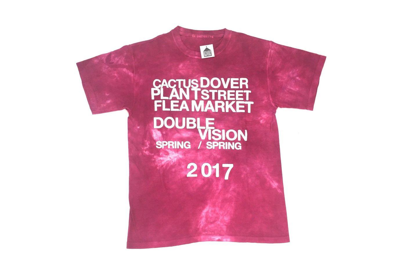 Canctus Plant Flea Market Dover Street Market T-shirt