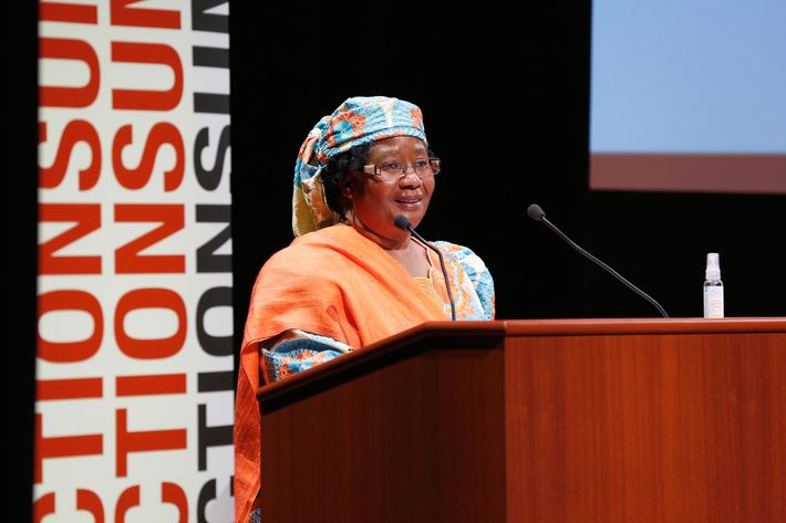 Joyce Banda.