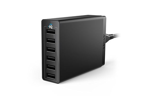 Chargeur mural USB 6 ports Anker