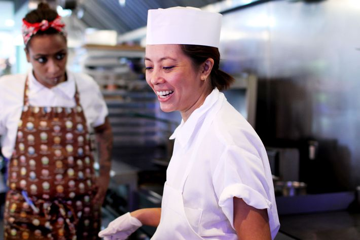 Mission Chinese Food's Angela Dimayuga.