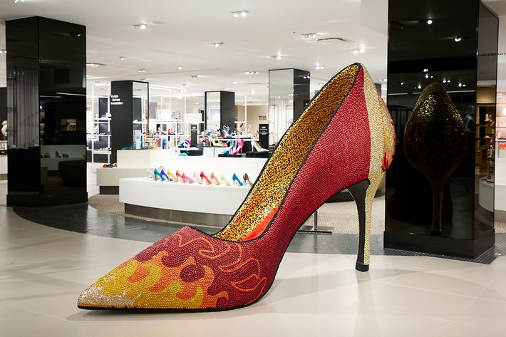 The Giant Instagrammable Shoes