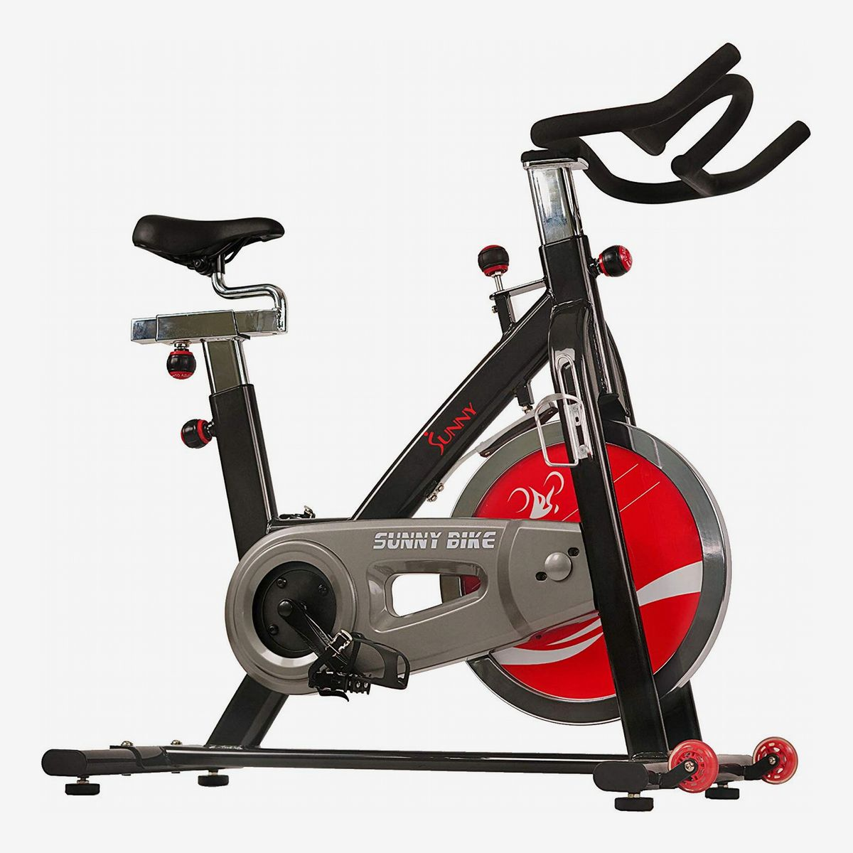 Portable Resistance Bike Trainer Indoor Bicycle Exercise Fitness Cardio Workout