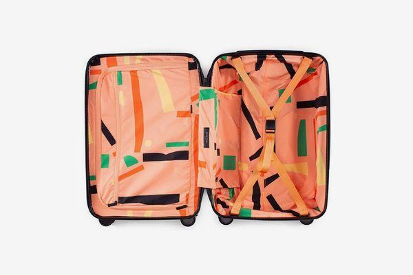 Arlo Skye x Dusen Dusen rolling carry-on suitcase