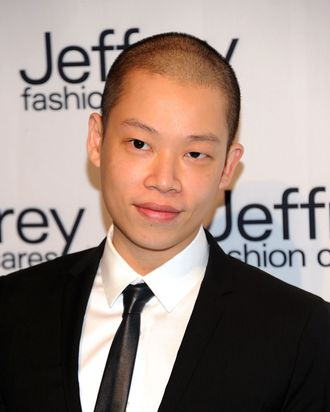 NEW YORK, NY - MARCH 28: Designer Jason Wu attends the 8th annual Jeffrey Fashion Cares on the Intrepid Aircraft Carrier on March 28, 2011 in New York City. (Photo by D Dipasupil/FilmMagic)
