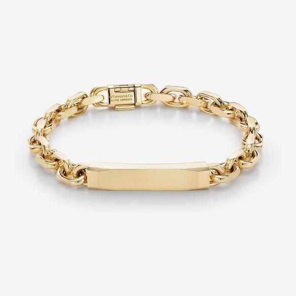Tiffany Makers I.D. Chain Bracelet in 18k Gold