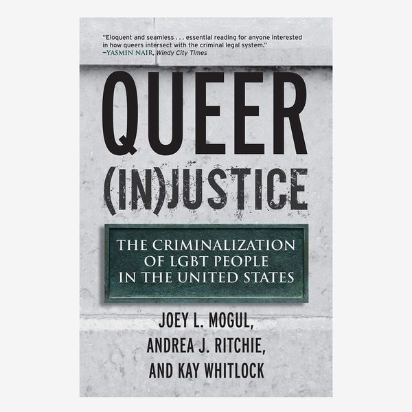 Queer (In)Justice: The Criminalization of LGBT People in the United States by Joey L. Mogul, Andrea J. Ritchie, and Kay Whitlock