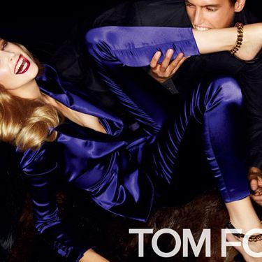 Mirte Maas and Mathias Bergh for Tom Ford.