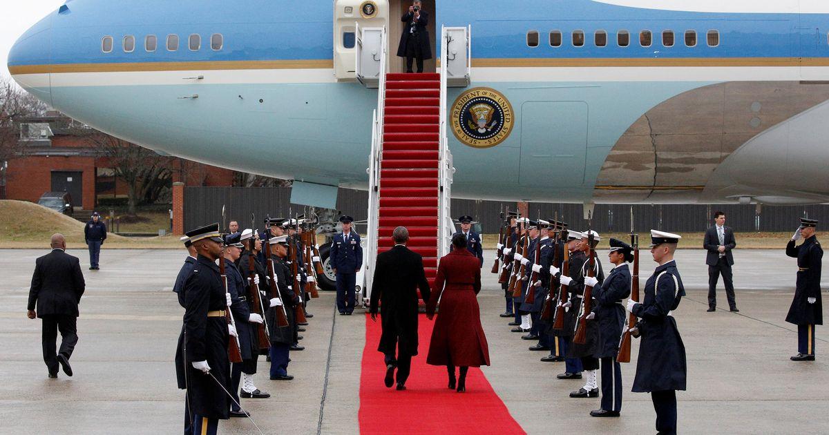 Trump Leaves the White House Like a Failed Coup Leader