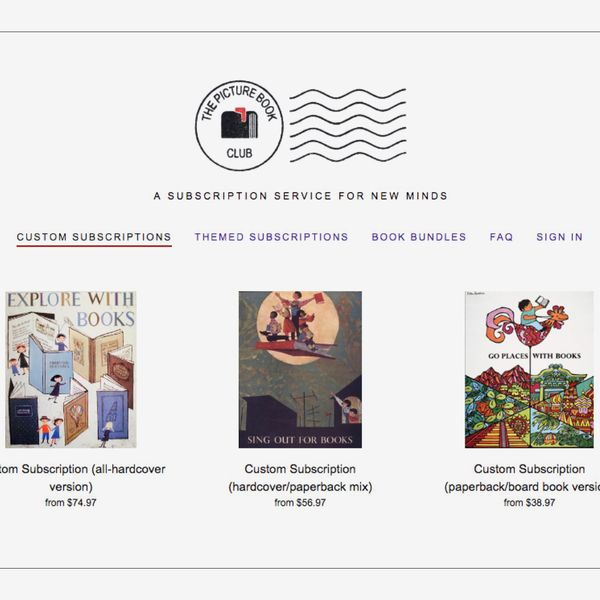 The Picture Book Club Subscription