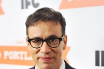 "Actor Fred Armisen attends the ""Portlandia"" season 2 premiere screening at the American Museum of Natural History on January 5, 2012 in New York City."