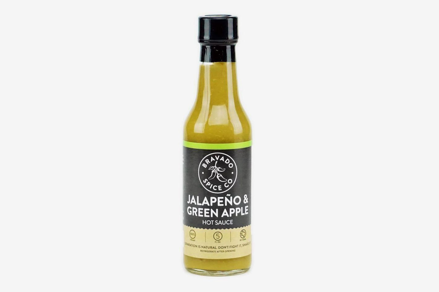 Bravado Spice Hot Sauce, Jalapeño and Green Apple
