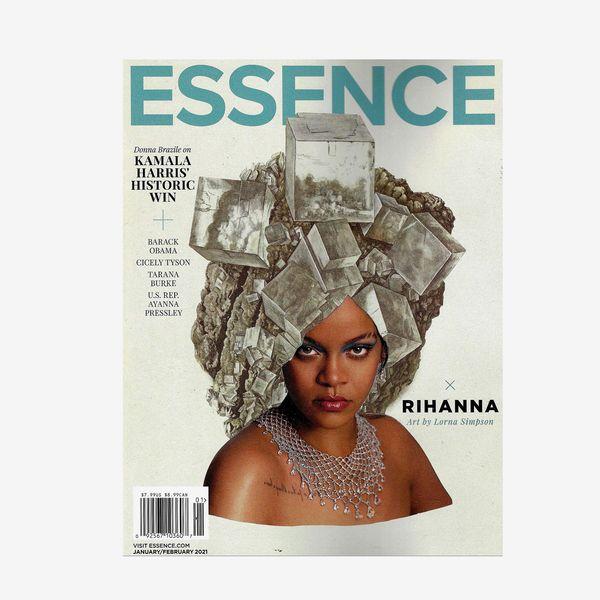 ESSENCE Magazine (January February, 2021) RIHANNA Cover