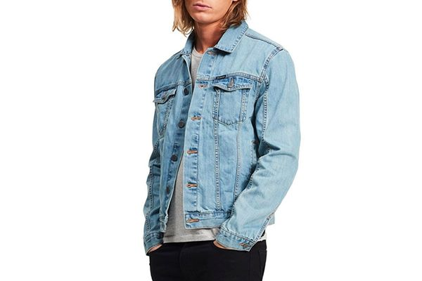 Calvin Klein Jeans Light Wash Jean Jacket
