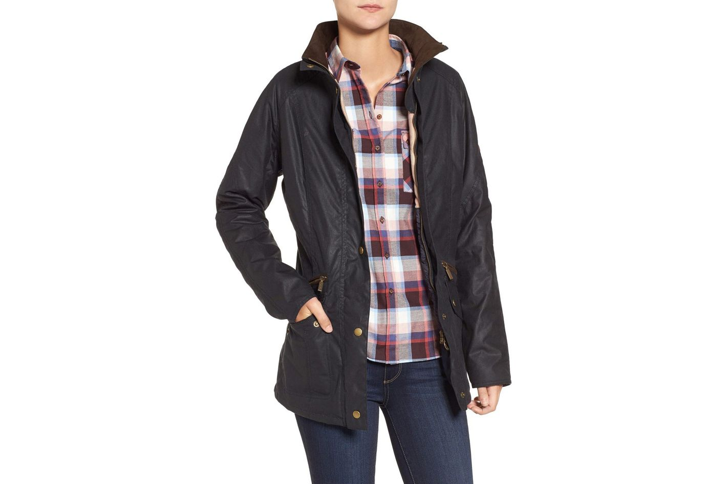 Barbour Crossrail Waxed Cotton Jacket
