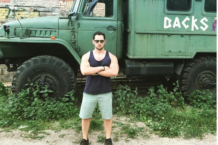 Truck not needed. Matt McGorry/Instagram.
