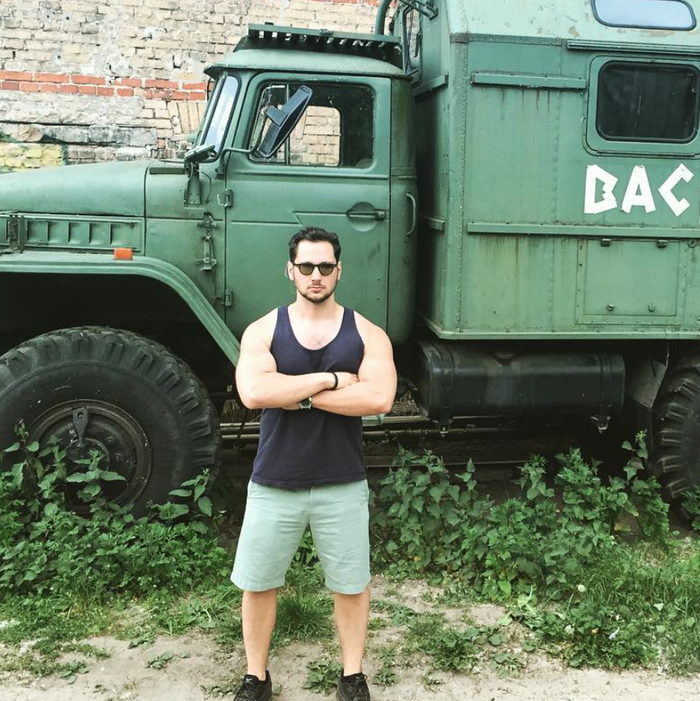 Truck not needed. Matt McGorry/Instagram.