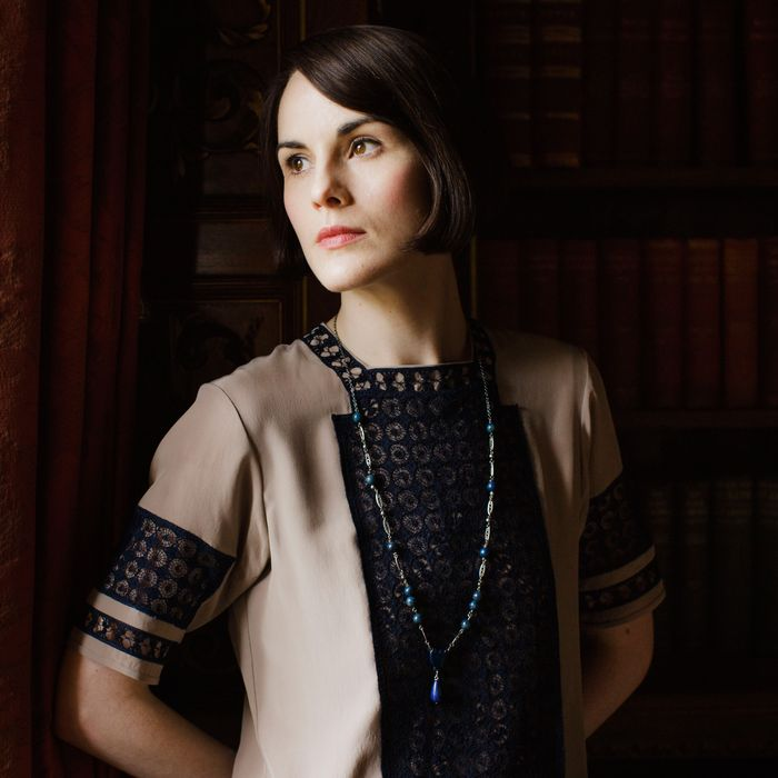 Downton AbbeyPart Eight - Sunday, February 21, 2016 at 9pm ET on MASTERPIECE on PBS Two romances get complicated. Molesley and Spratt try out new jobs. Thomas takes a fateful step. Mrs. Patmore provokes a scandal. Isobel puts her foot down. Shown: Michelle Dockery as Lady Mary(C) Nick Briggs/Carnival Film & Television Limited 2015 for MASTERPIECE This image may be used only in the direct promotion of MASTERPIECE CLASSIC. No other rights are granted. All rights are reserved. Editorial use only. USE ON THIRD PARTY SITES SUCH AS FACEBOOK AND TWITTER IS NOT ALLOWED.