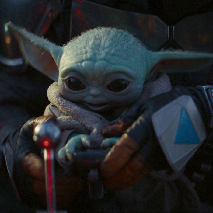 Baby Yoda in The Mandalorian.