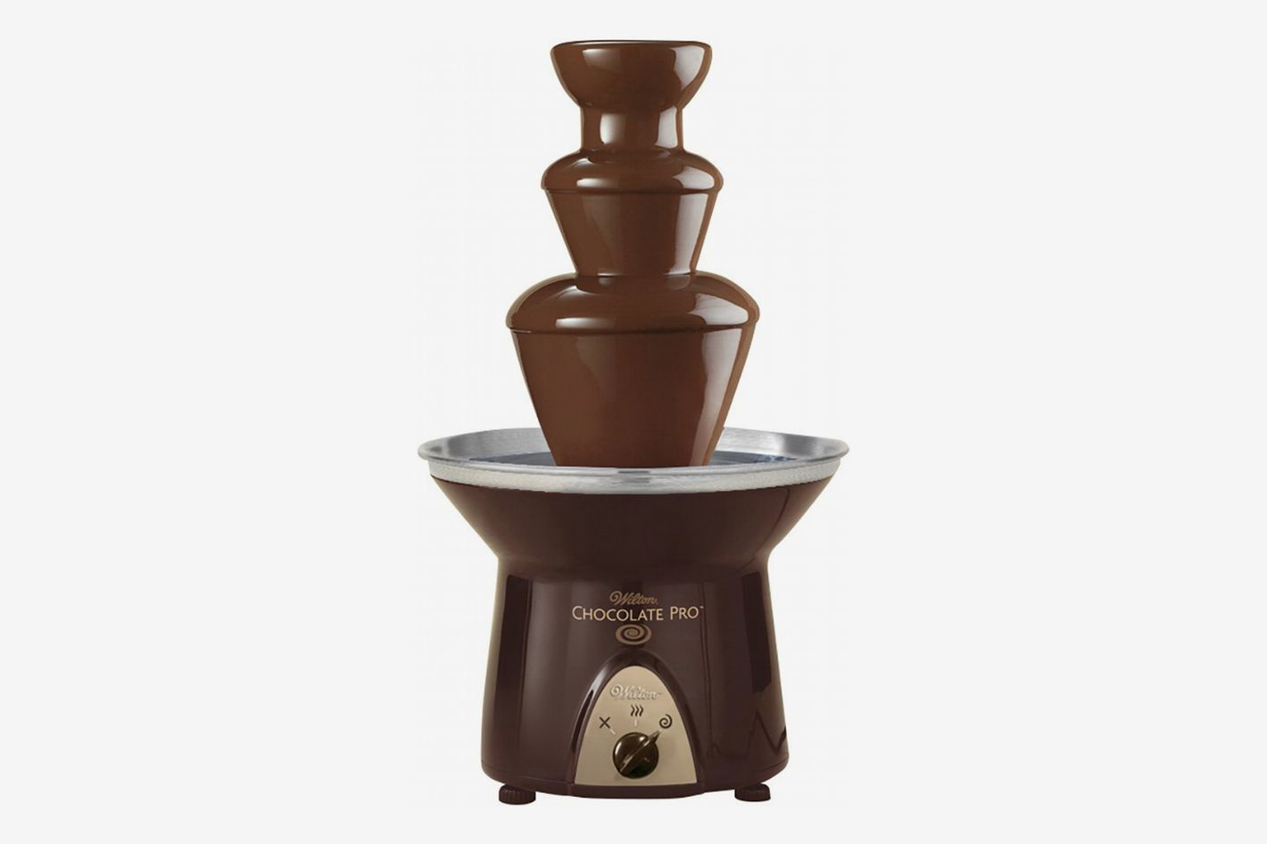 Wilton Chocolate Pro Chocolate Fountain — Chocolate Fondue Fountain, 4-lb. Capacity