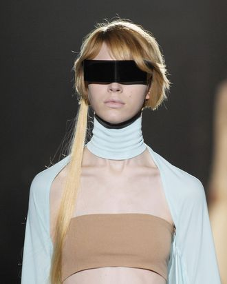 A look from Maison Martin Margiela spring 2008.