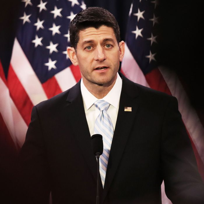 House Speaker Paul Ryan Gives Speech On The State Of American Politics