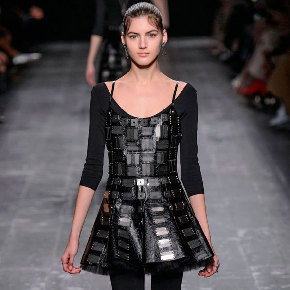 Valentino's fall collection at Paris Fashion Week.