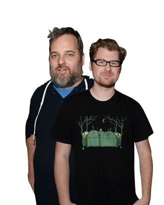 Dan Harmon And Justin Roiland On Rick And Morty How Community Is Like Star Trek And Puberty
