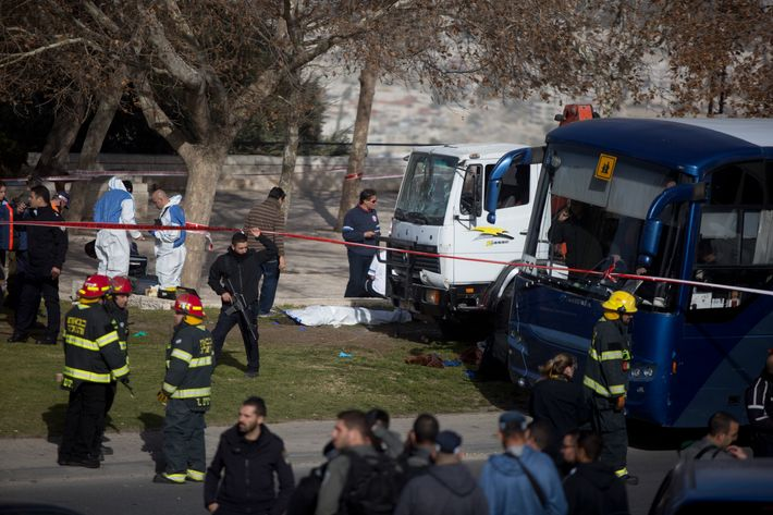 Truck attack kills 4 Israeli soldiers in Jerusalem