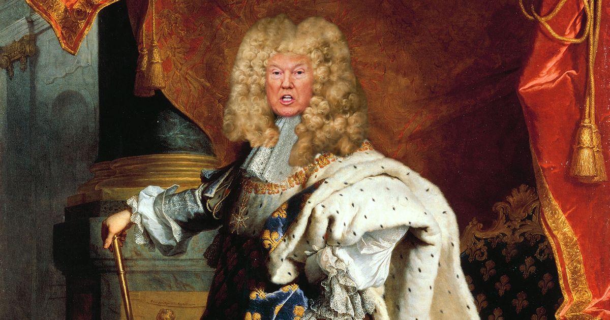 Donald Trump: L'état, C'est Moi