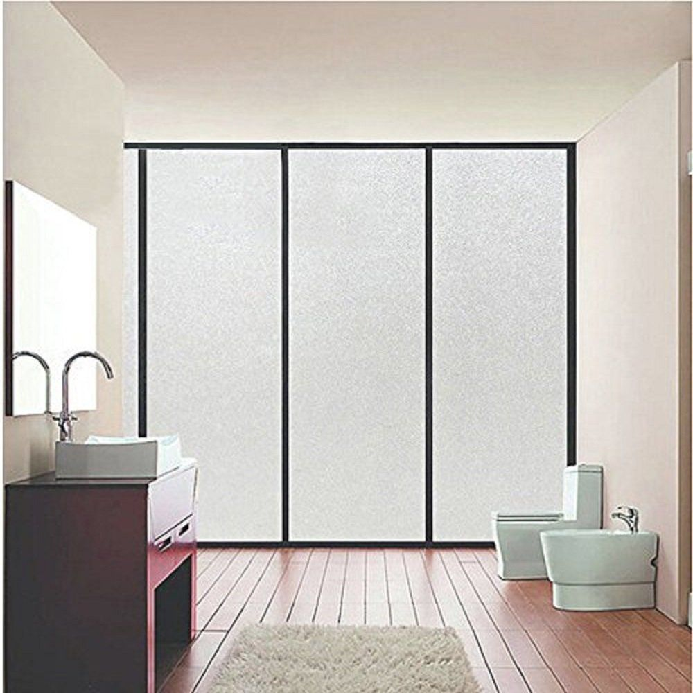 Coavas Non-Adhesive Frosted Window Film