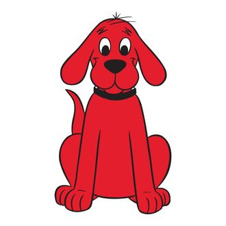 clifford the big red dog breed