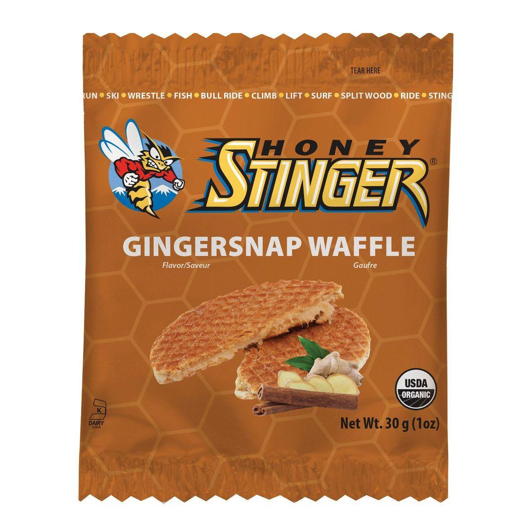 Honey Stinger Gingersnap Waffles