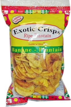Exotic Plantain Crisps