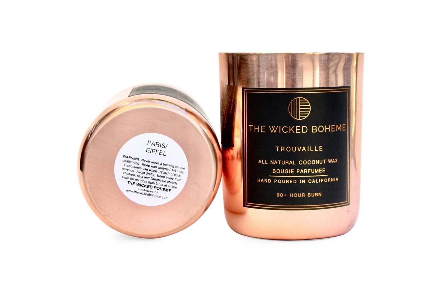 The Wicked Boheme Paris Coconut Wax Candle