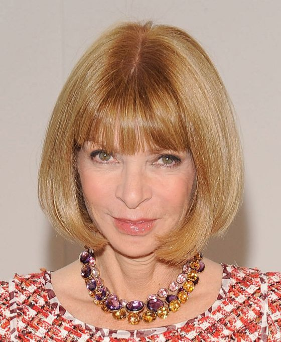 Like her signature shades, cross-strap Manolo sling-backs, and Georgian collet necklaces, Anna Wintour's trademark bob is part of her unwavering uniform. First snipped at Leonard of Mayfair in her teenaged Youthquake days, Wintour's been faithful to the style ever since. Daily 6:45 a.m. blowouts ensure that the <i>Vogue</i> editor-in-chief and Condé Nast artistic director always looks impeccable.